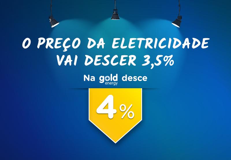 Baixamos os preços da eletricidade